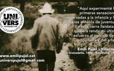 EMILI PUJOL UNIVERS | Guitarfest – Simposium – Campus – Contest