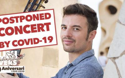 Friday, July 31, 2020, 9:30 p.m.   IZAN RUBIO – Emili Pujol and the popular guitar   Església Nova – TORREBESSES   POSTPONED CONCERT BY COVID-19