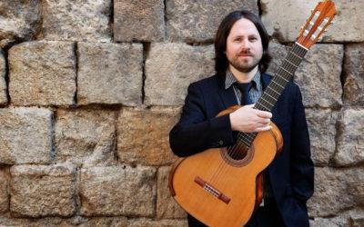 Sunday, August 16, 2020, 12:30 p.m. | JACOB CORDOVER – Evocative guitar | Església Sant Jaume – ARBECA