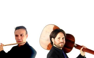 Saturday, August 29, 2020, 8:00 p.m. VISIT + TASTING – 9:00 p.m. CONCERT | EDUARD SÁNCHEZ AND JACOB CORDOVER – Wind and string virtuosity | Mas Blanch i Jové – LA POBLA DE CÉRVOLES