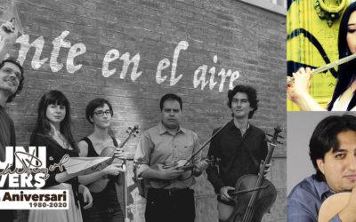 Saturday, August 1, 2020, 9:30 p.m. | TENTE EN EL AIRE + GUESTS – Emili Pujol and the Vivaldi's concert | Església Santa Maria de Gràcia – LA GRANADELLA