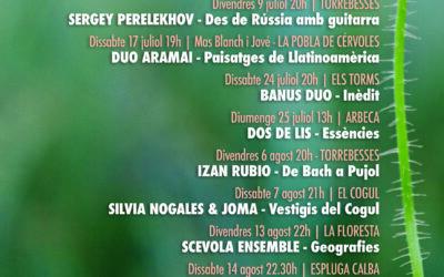 GARRIGUES GUITAR FESTIVAL 2021 | Les guitarres tornen a les Garrigues amb una desena edició post pandèmia